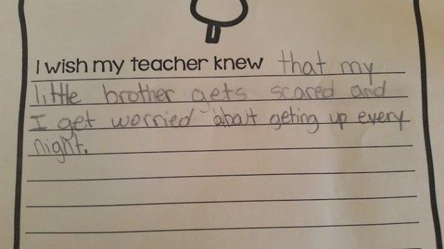 I wish my teacher knew 6