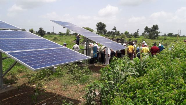 Solar-water pumping system