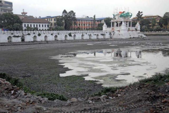 Rani Pokhari under construction