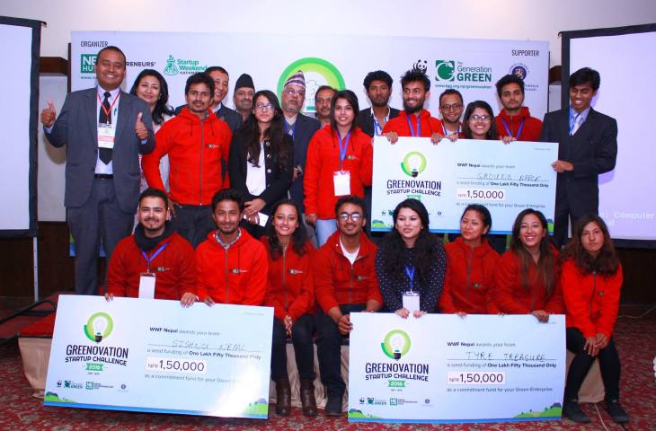 Greenovation Startup Challenge_Winners