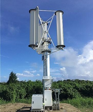 Challenergy's typhoon turbine