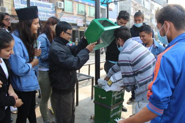 nepalese-students-club-fiber-dustbin-1