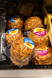 packaged cheese balls on sale in Milwaukee. Credit Darren Hauck for The New York Times