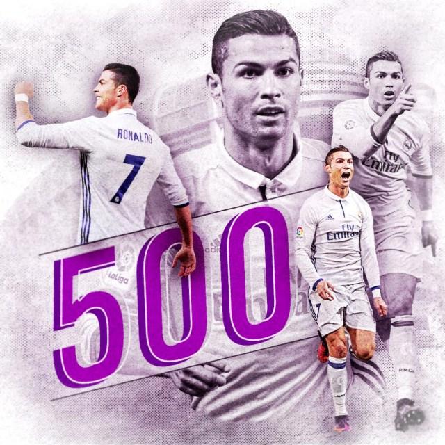 ronaldos-500-goals
