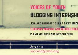 Voice Of Youth Blogging Internships