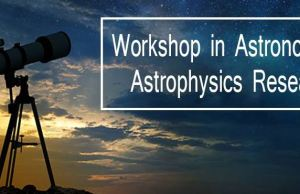 Workshop in Astronomy and Astrophysics Research- Glocal Khabar