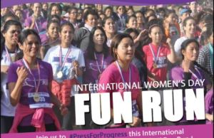 International Women's Day 5 K Fun Run 2018- Glocal Khabar