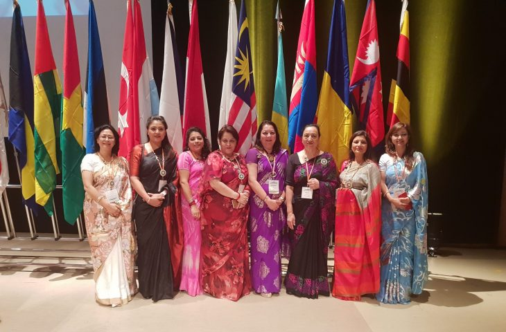 Zonta Club Kathmandu attending Zonta International 64th Convention 2018 in Japan