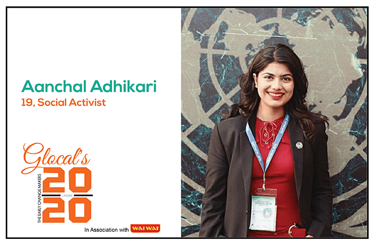 20 under 20 | Aanchal Adhikari