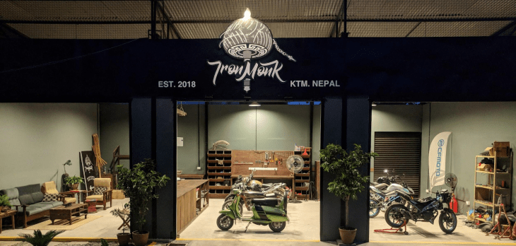 Idea of International Standard Motorcycle Repair Center in Nepal: Iron Monk Works