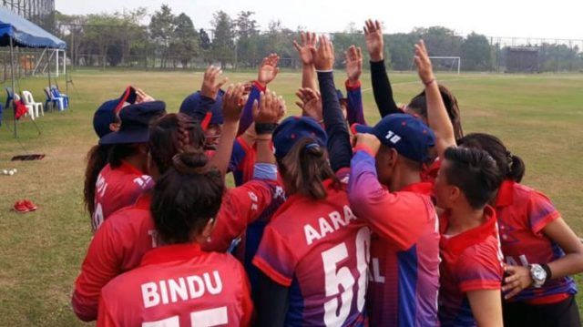 Nepal Women Cricket Team Becomes Victorious