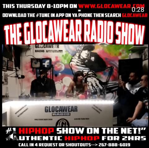 "Highlights of The @Glocawear Radio Show w/ ""ZAN"""