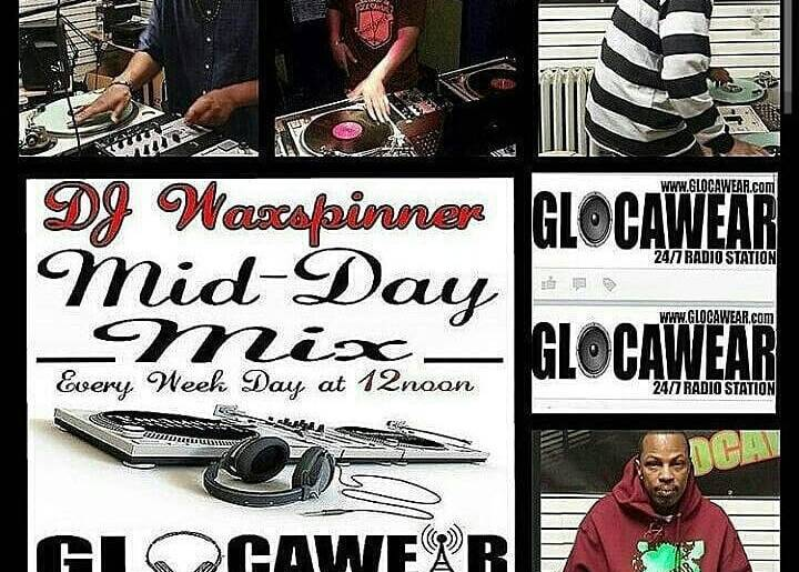 Check Out #Dj Waxspinner's #MID #DayMix (every week day at 12:00