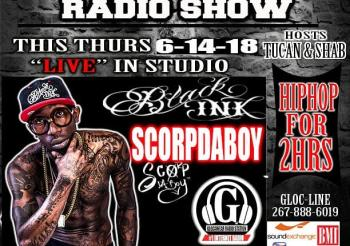 This Thurs special guest @scorpdaboy 8-10 pm on The @Glocawear Radio Show