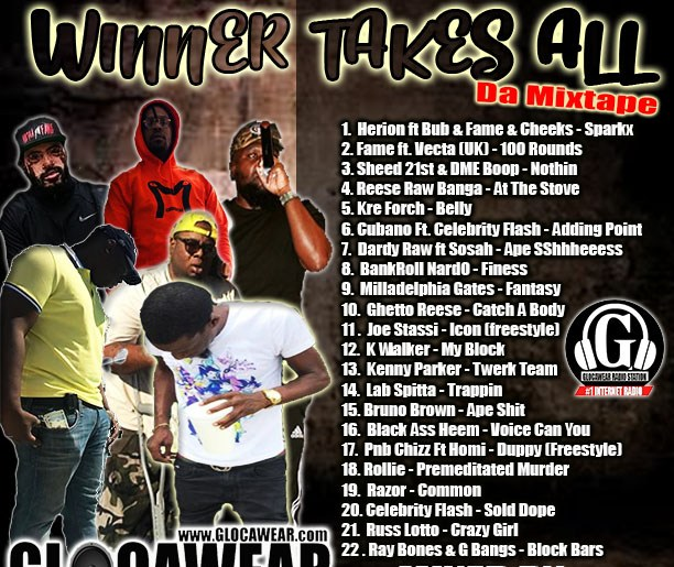 """HardCopies at #TheGShop """"WINNER TAKES ALL"""" da MixCd"""