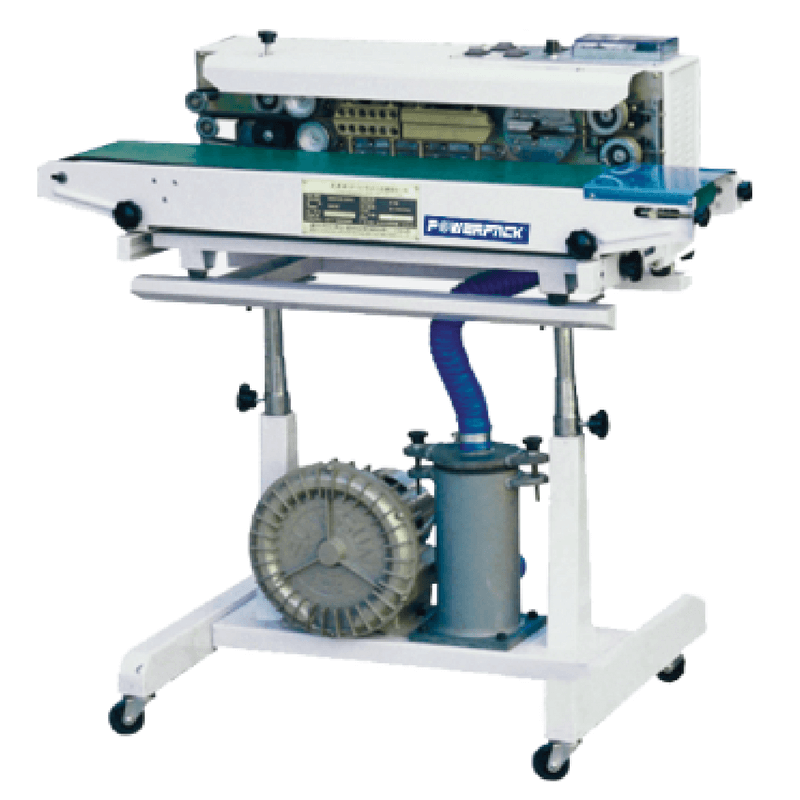 Mesin Continuous Band Sealer POWERPACK SF 150G With Gas Filling