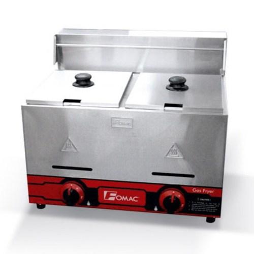 Mesin Gas Deep Fryer 7 Liter 2 Tangki Glodok Mesin