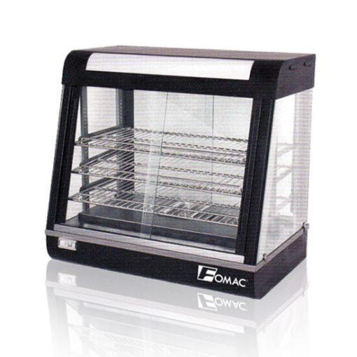 Mesin Showcase Warmer Alat Penghangat Makanan FOMAC SHC BW680