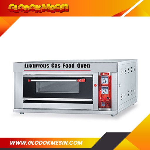 Oven Gas Roti FOMAC 1 Deck