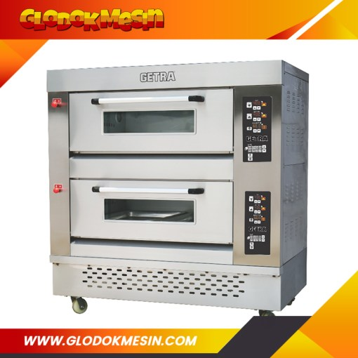 Oven Gas Pizza GETRA 2 Deck