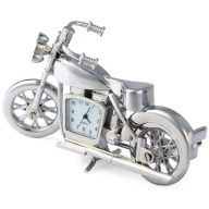 Motorcycle Shape Watch Rectangle Dial Stainless Steel Body