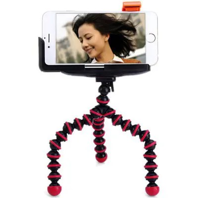 Octopus Tripod with Phone Clip Holder Sets