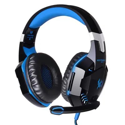 EACH G2000 USB Gaming Headset - BLUE