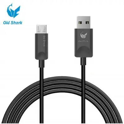 Old Shark 1.8m Micro USB Charge Sync Cable