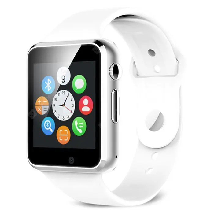 Gearbest A1 Bluetooth Smart Watch Phone - WHITE
