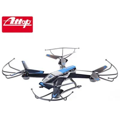 Gearbest ATTOP YD - A9 2.4G 4CH 6-Axis Gyro RTF Quadcopter - BLUE Remote Control Toy
