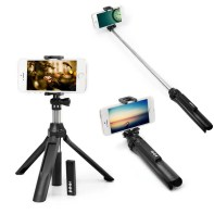 Portable Bluetooth 4.0 Camera Selfie Monopod for iPhone X