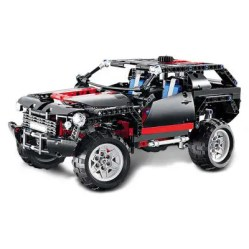 Gearbest BEILEXING SUV Style ABS Building Brick - 589pcs