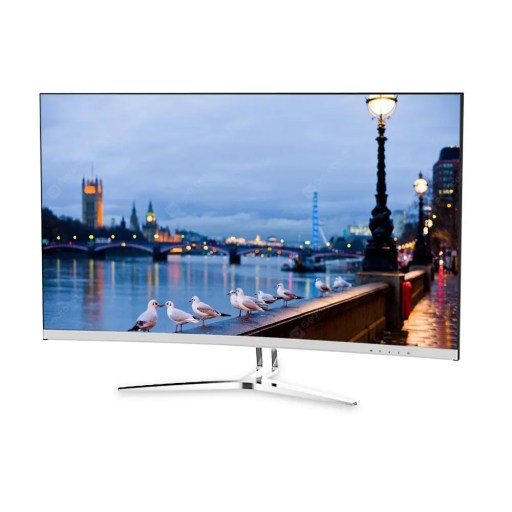 Gearbest TCL T32M6C 31.5 inch Curved Computer Monitor - WHITE Refresh Rate: 60Hz