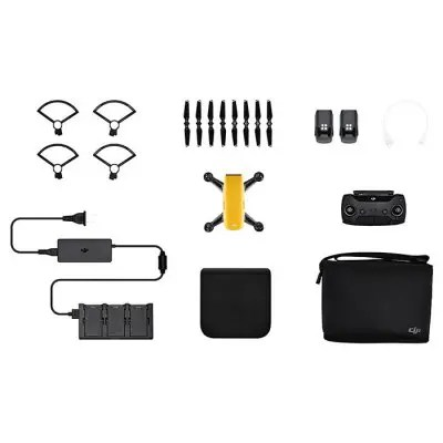 DJI Spark Mini RC Selfie Drone - RTF YELLOW
