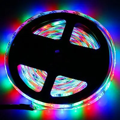 ZDM 5M LED Strip Light with Remote Control - RGB COLOR (24 KEYS