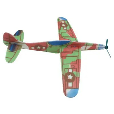Novelty Assembly Airplane Model for Kids DIY - COLORMIX