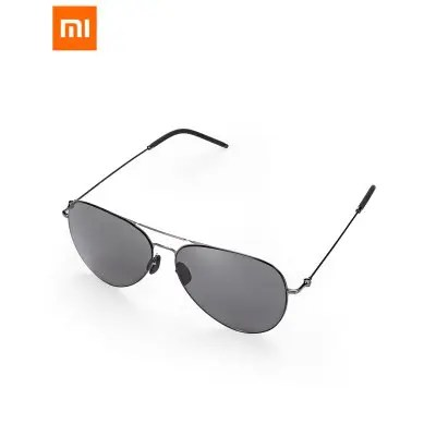 Xiaomi Anti-UV Polarized Sunglasses TS Nylon Lens - GUN METAL FRAME + GREY