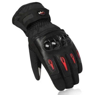 PRO - BIKER MTV08 Racing Gloves - XL BLACK
