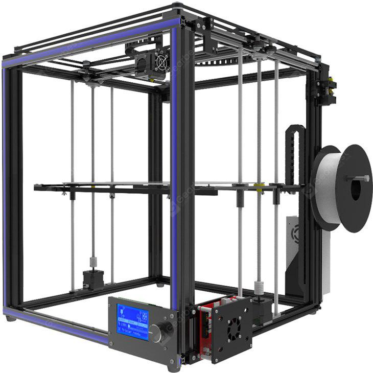 Tronxy X5S High-precision Metal Frame 3D Printer Kit – Black EU Plug 23Jul