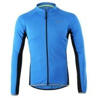Arsuxeo 6022 Quick Dry Breathable Long Sleeve Jersey for Men