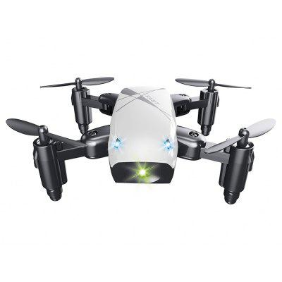Gearbest S9 Micro Foldable RC Drone - RTF - STANDARD VERSION WHITE 2.4GHz 4CH 6-axis Gyro / Headless Mode / One Key Return
