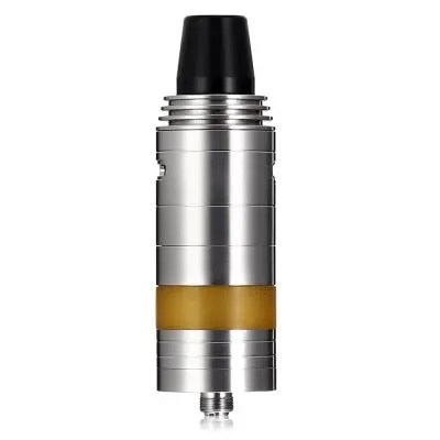 Gearbest SK RTA Atomizer with 8ml - SILVER Side Adjustable Airflow / Dual Posts