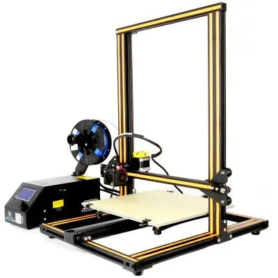 Gearbest Creality3D CR - 10S 3D Desktop DIY Printer - COFFEE AND BLACK EU PLUG UPGRADE VERSION LCD Screen Display with SD Card Off-line Printing Function