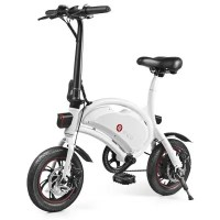 "Résultat de recherche d'images pour ""F - wheel DYU D2 Folding Electric Bike 5.2Ah Battery EU Plug - WHITE gearbest"""