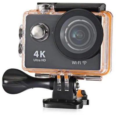 Gearbest H9R 170 Degree Wide Angle 4K Ultra HD WiFi Action Camera