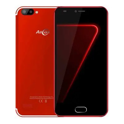 AllCall Alpha 3G Smartphone - Red