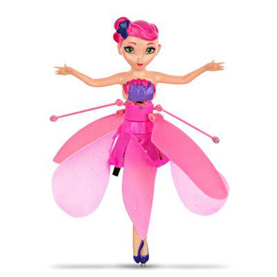 Electric Induction Hover Flying Fairy - 1PC PINK