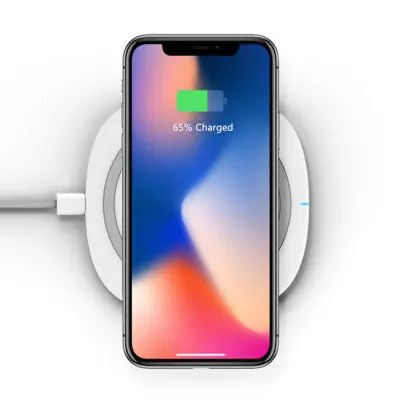 Gearbest TOCHIC Qi Wireless Charger Pad Ultra-thin 10W Fast Charge