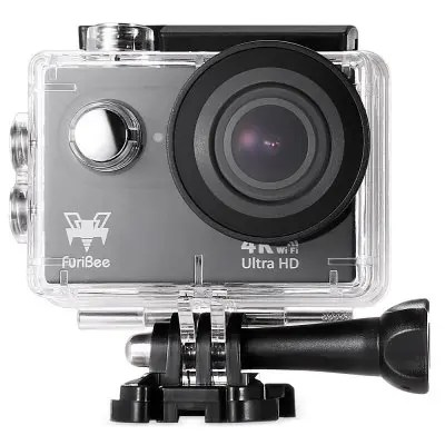 Furibee H9R Waterproof Action Camera 4K Ultra HD Resolution