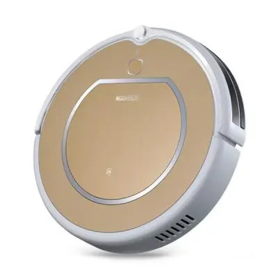 Gearbest ECOVACS CEN540 - LG Robotic Vacuum Cleaner - GOLDEN Automatic Remote Control Cleaning Robot Self-recharging Mopping Function